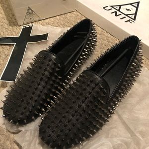 UNIF hellraiser loafers MENS SIZE 10 NEW